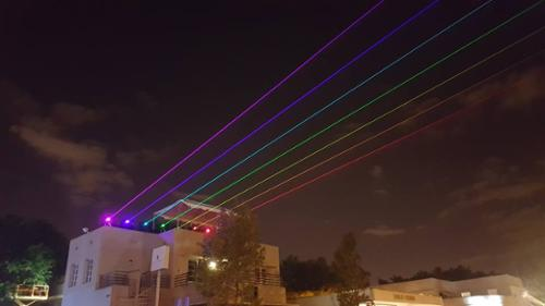 UNITED LASER HIGH POWER OUTDOOR LASER SHOWS