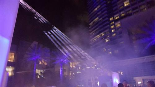 UNITED LASER OUTDOOR LASER SHOW MIAMI DIPLOMAT HOTEL